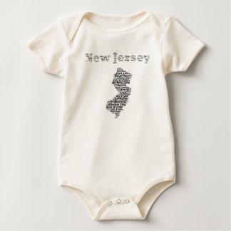 Body Para Bebê Cidades de New-jersey