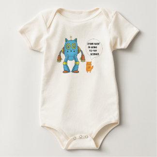 Body Para Bebê Ciência engraçada e planejamento do gatinho felino