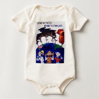 Body Para Bebê Cientistas Muzzled_tshirt com palavras