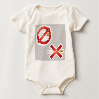 Body Para Bebê cigarro
