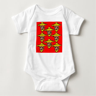 Body Para Bebê Cinco De Mayo Chihauhaus