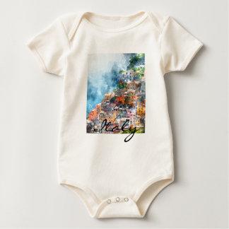 Body Para Bebê Cinque Terre Italia no Riviera italiano