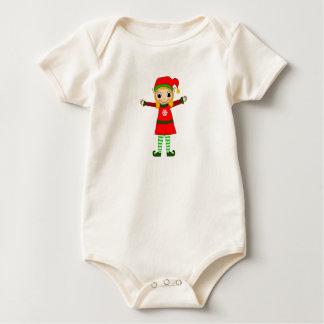 Body Para Bebê Cintilação orgânica