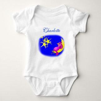 Body Para Bebê Cintilação pouca estrela pelos Feliz Juul Empresa