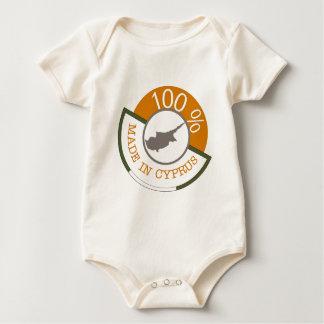 Body Para Bebê Cipriota de 100%!