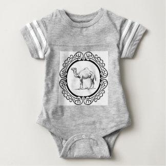 Body Para Bebê círculo do camelo