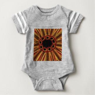 Body Para Bebê círculos center do furo
