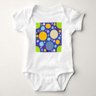 Body Para Bebê círculos e bolinhas