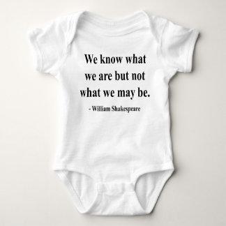 Body Para Bebê Citações 3a de Shakespeare