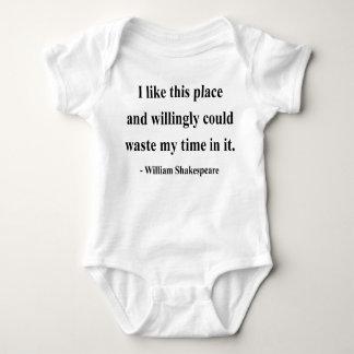 Body Para Bebê Citações 6a de Shakespeare