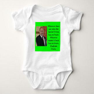 Body Para Bebê citações de putin