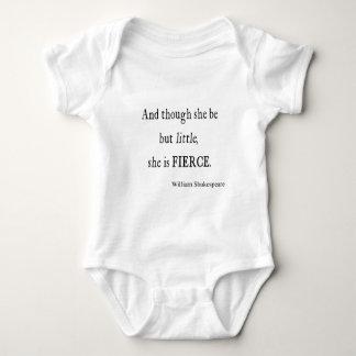Body Para Bebê Citações de Shakespeare seja citações pequenas mas
