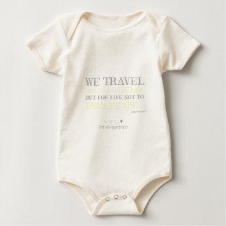 Body Para Bebê Citações do viagem