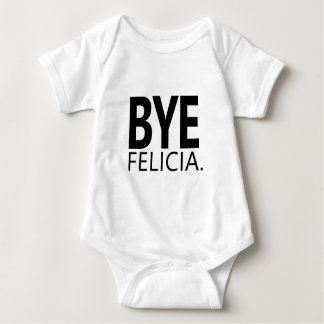 Body Para Bebê Citações engraçadas de Felicia Meme do adeus