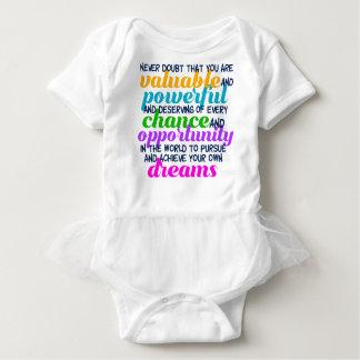 Body Para Bebê Citações inspiradas dos sonhos de Hillary Clinton