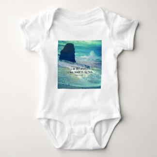 Body Para Bebê Citações inspiradas JOANA da coragem do oceano do