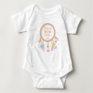 Body Para Bebê Citações tribais de Dreamcatcher Boho