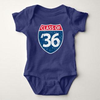 Body Para Bebê Classe do bebê 2036 uma parte