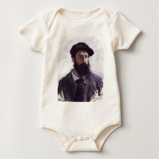 Body Para Bebê Claude Monet - Auto-retrato na boina