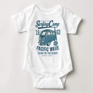 Body Para Bebê Clube Califórnia do surf