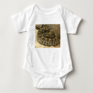 Body Para Bebê Cobra do chocalho