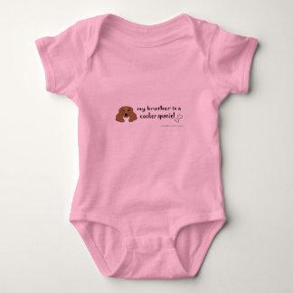 Body Para Bebê cocker spaniel