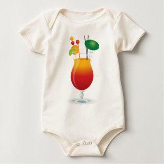 Body Para Bebê Cocktail das caraíbas