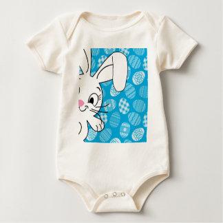 Body Para Bebê Coelhinho da Páscoa