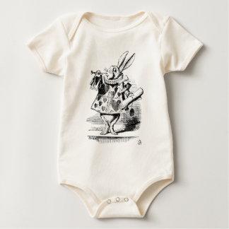 Body Para Bebê Coelho branco