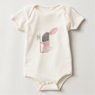 Body Para Bebê Coelho da desgraça