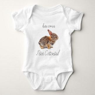 Body Para Bebê Coelho de coelho do coelho de Peter