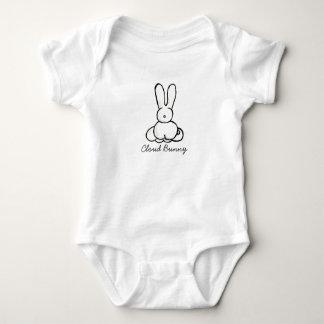 Body Para Bebê Coelho do bebê da nuvem