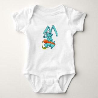 Body Para Bebê coelho engraçado com desenhos animados doces da