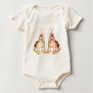 Body Para Bebê Coelhos