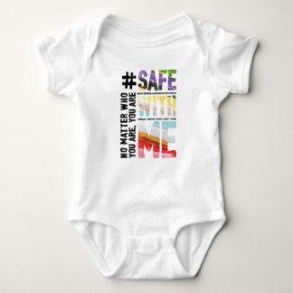 Body Para Bebê Cofre forte comigo Bodysuit do bebê da aguarela