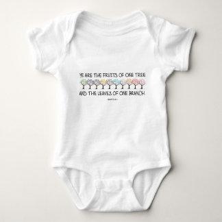 Body Para Bebê Cofre forte comigo Bodysuit do bebê da árvore