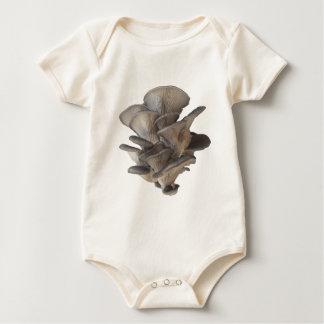 Body Para Bebê Cogumelo de ostra