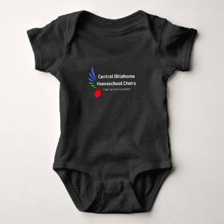 Body Para Bebê COHC que inspira o t-shirt coral da excelência