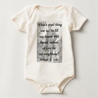 Body Para Bebê Coisa cruel - Robert E Lee