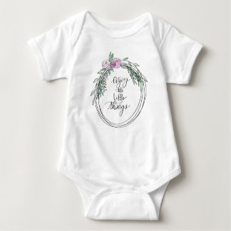 Body Para Bebê Coisas pequenas Onesy