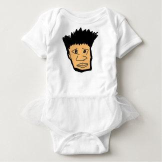 Body Para Bebê coleção filipina da cara dos desenhos animados do