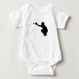 Body Para Bebê Coletor do basebol