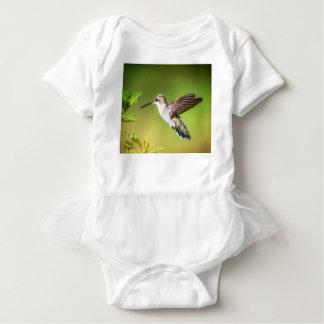 Body Para Bebê Colibri em vôo