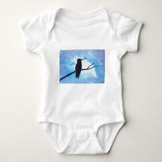 Body Para Bebê Colibri na noite
