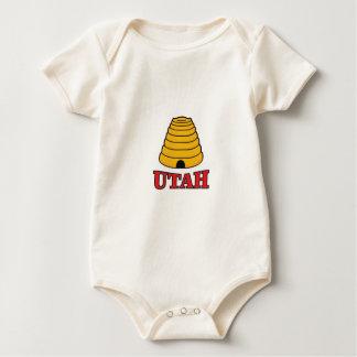 Body Para Bebê colmeia de Utá