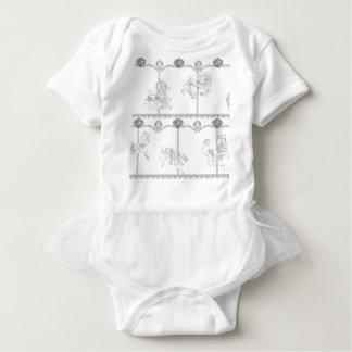 Body Para Bebê Colora-me carrossel
