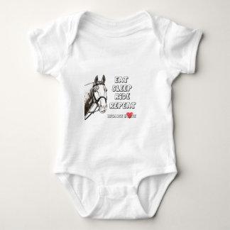 Body Para Bebê Coma a repetição do passeio do sono