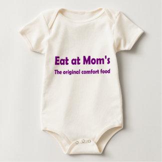 Body Para Bebê Coma na mãe