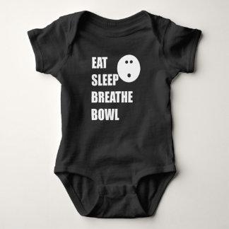 Body Para Bebê Coma o sono respiram a bacia