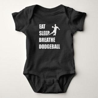Body Para Bebê Coma o sono respiram Dodgeball